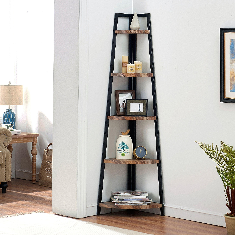 Pin By Gavin Shang On Mobilya Ve Aksesuar In 2020 Corner Bookshelves Shelves Corner Bookcase #standing #shelves #for #living #room