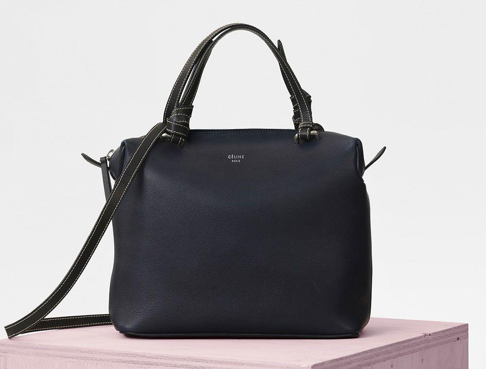 S S 2016 Celine Collection Outlet-Celine Small Square Handbag in Black  Crocodile  6eec09d0b8d16