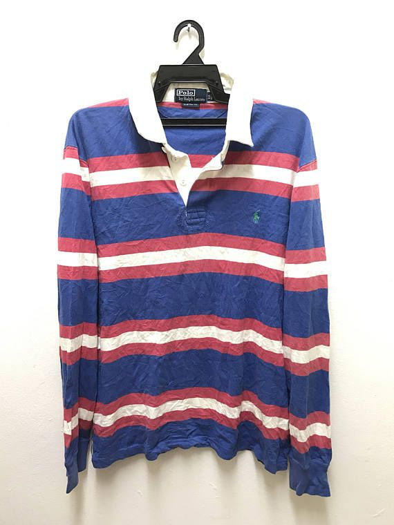 Rare POLO by ralph lauren rugby shirt ItrWHESez
