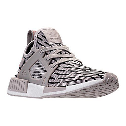 WOMENS ADIDAS NMD XR1 (Womens 7, Clear Granite/Clear Granite/Core Red