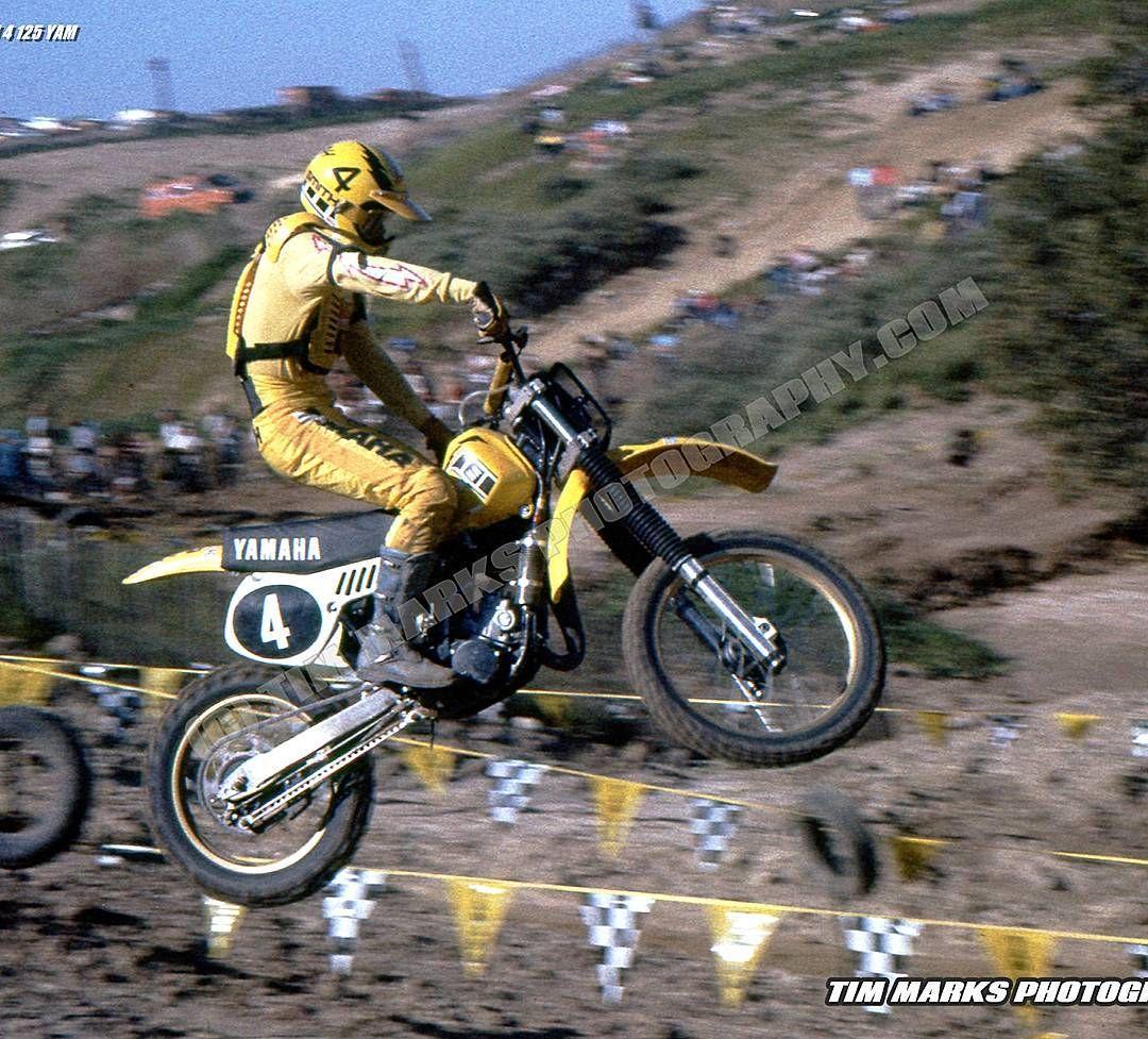 Saddleback Park On Instagram Hurricane Hannah Bob Hannah Launches Ow Yamaha Down The Downhill Double After The M Vintage Motocross Motocross Bikes Motocross