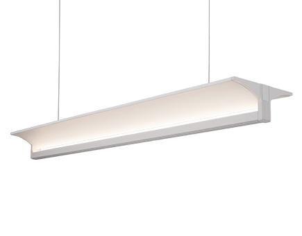 Led Linear Pendant With Up Light Lp12945 Wh Living Lighting Home Office Led Pendant Lights Linear Light Fixture Led Light Design