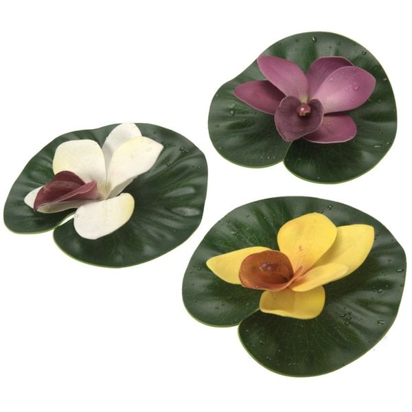 Floating Lily Pad Variety Pack: Bedding, Furniture, Electronics, Jewelry
