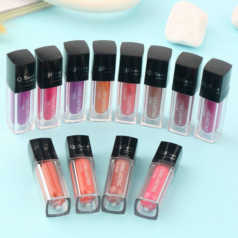 Moda maquiagem de alta qualidade à prova d ' água de longa duração líquido cosméticos batom Lip Gloss 2015 yks alishoppbrasil