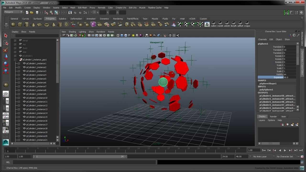 Introduction to Python Scripting in Maya - Part 5: Custom