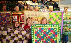 Quilts for Kids- making quilts for sick children