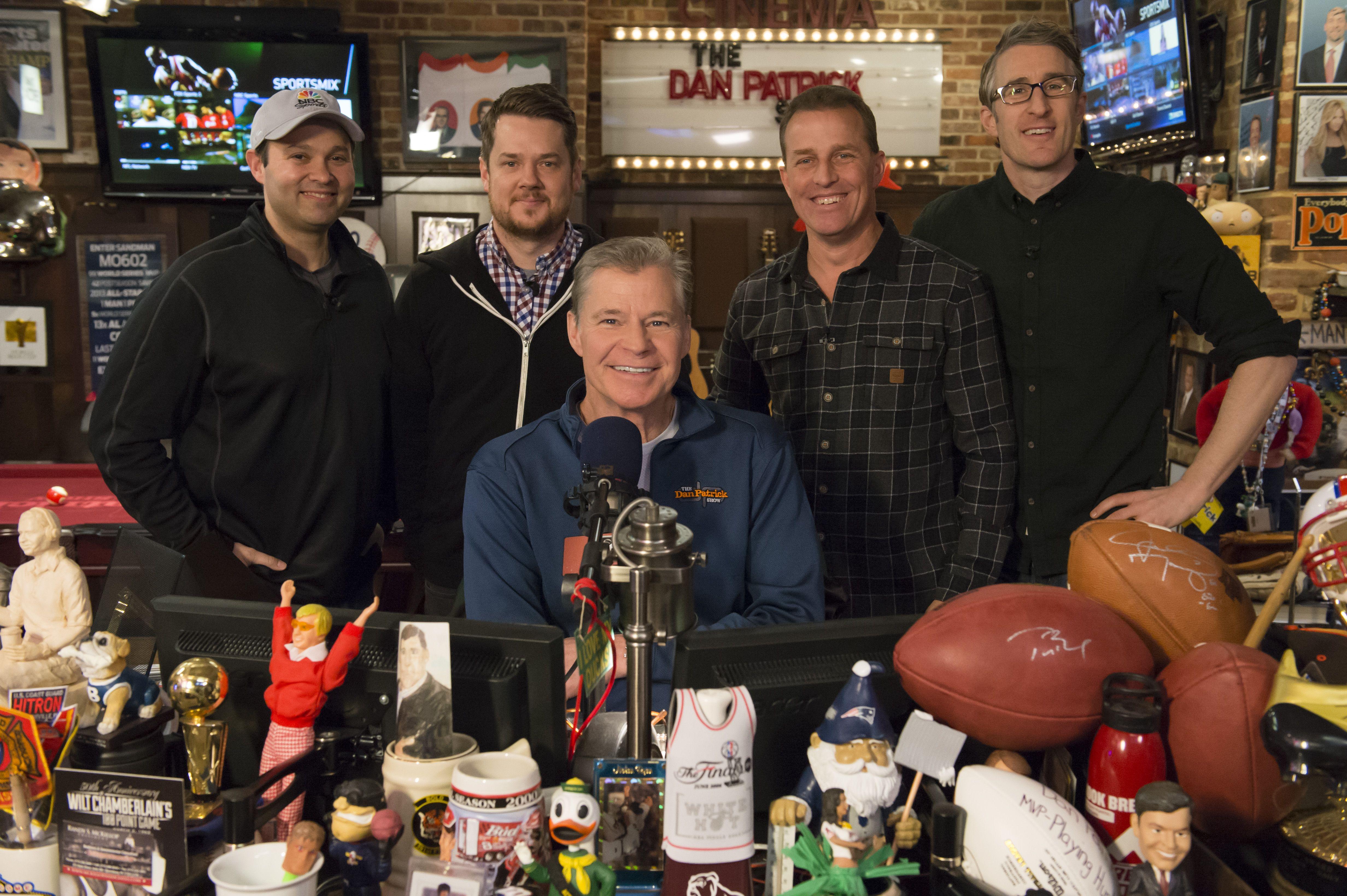 Man Caves Dan Patrick : The dan patrick show fox sports radio nbcsn favorite