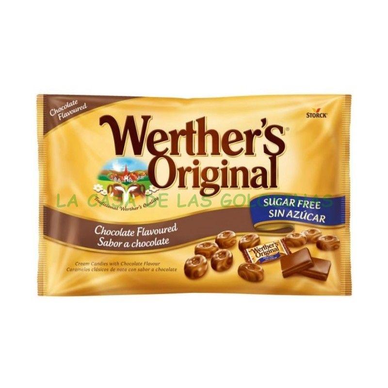 Caramelos Werther S Original Sin Azucar Chocolate Azucar Caramelos