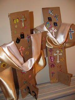 Easter cross craft.