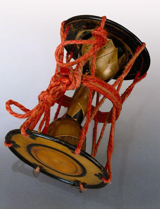 Tsuzumi (hand drum), 19th century