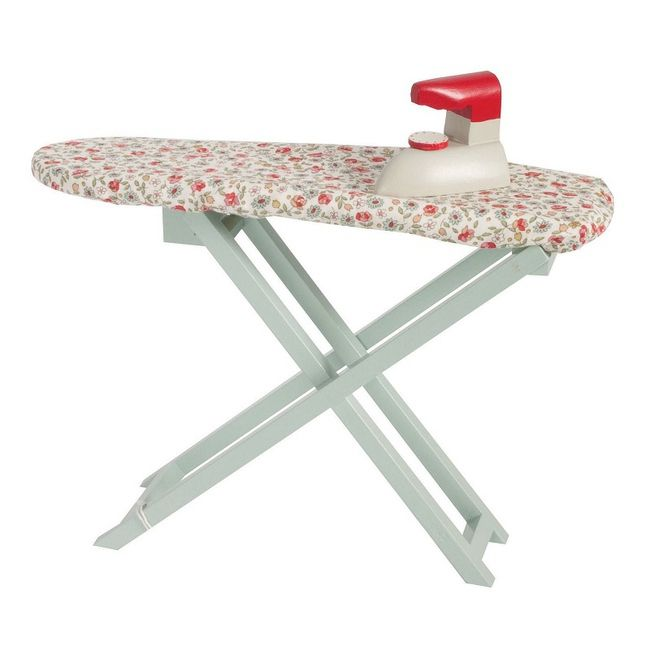 Table et fer repasser en bois lovely toys wooden ironing board iron - Table a repasser en bois ...