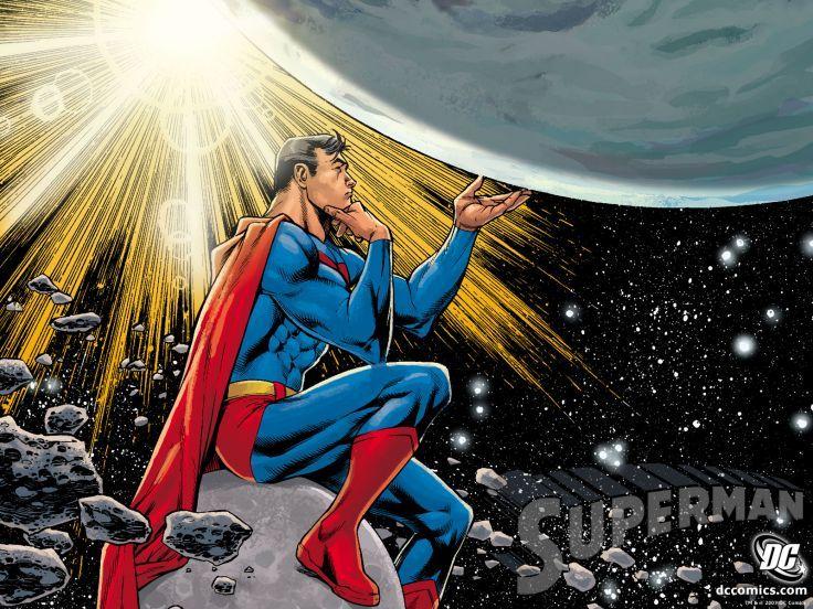 Superman D C Starlight Think Dc Comics Space Planet Planets Superhero Superman Comic Art Superman Comic Dc Comics Superman