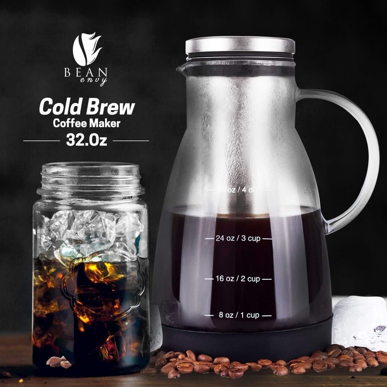 Bean Envy Cold Brew Coffee Maker 32 oz
