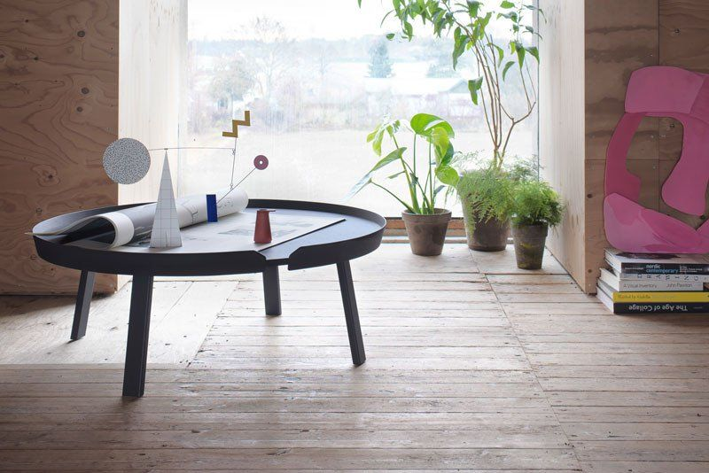 New Season 2017 By Muuto Around Coffee Table Extra Large New Nordic Scandinavian Des Coffee Table Wooden Coffee Table Designs Interior Decoration Accessories