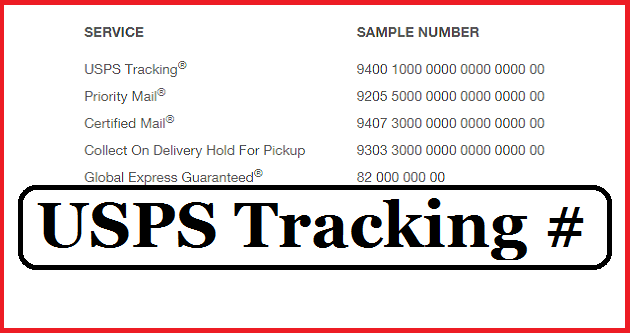 United Postal Service Tracking Packages