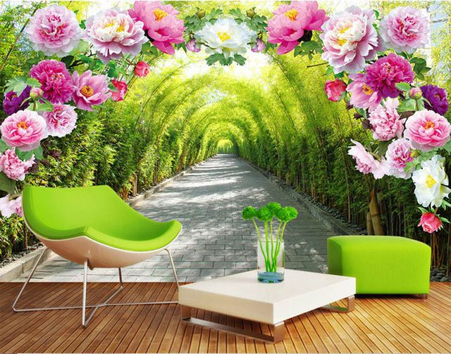 Best Romantic Rose Flowers Wall Mural Natural Scenery Photo 640 x 480