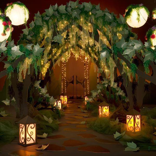 idee deco entrée salle de réception mariage theme nature   Salle de réception mariage ...