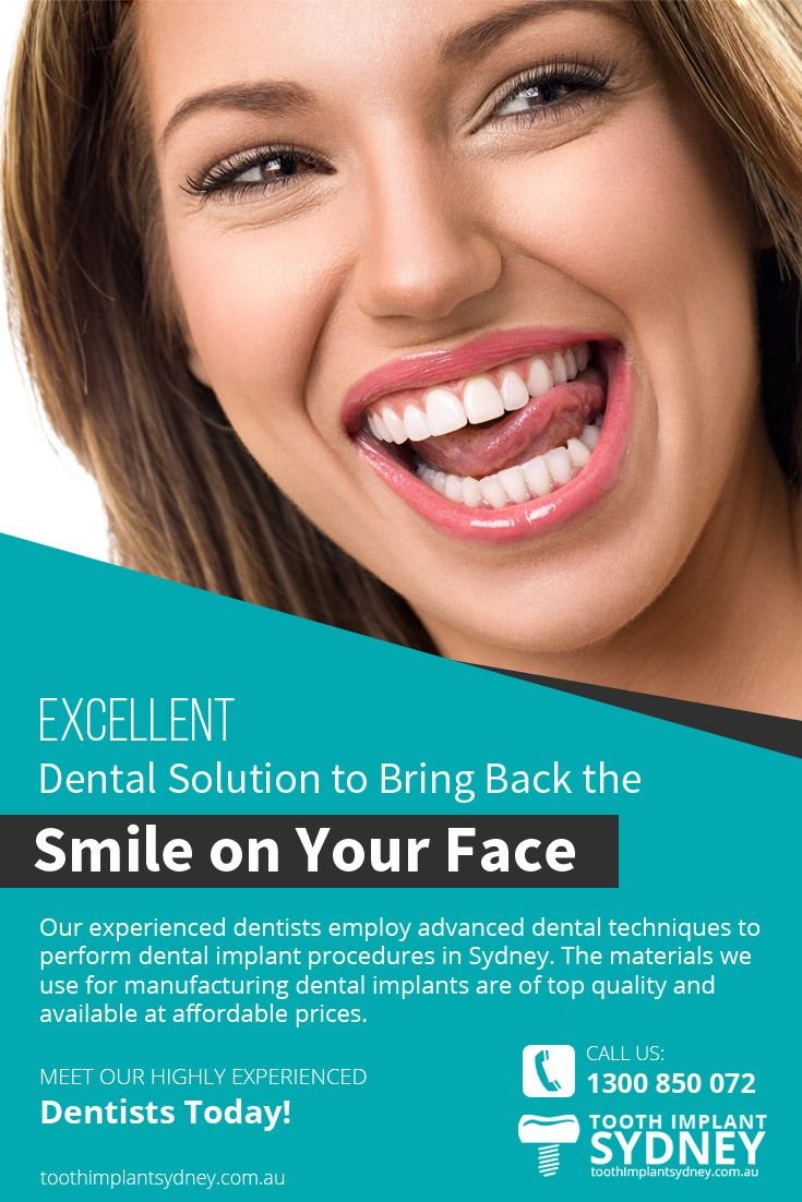 Our experienced dentists employ advanced dental