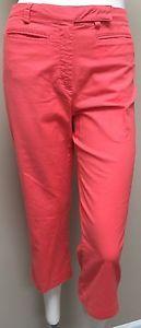 *TOMMY HILFIGER GOLF* Women's Coral Orange Capri Cropped Pants 4