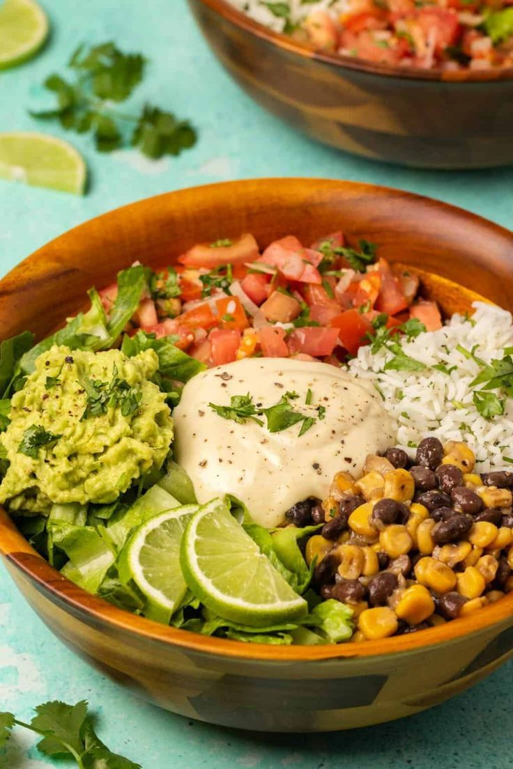 Photo of Vegan Burrito Bowls