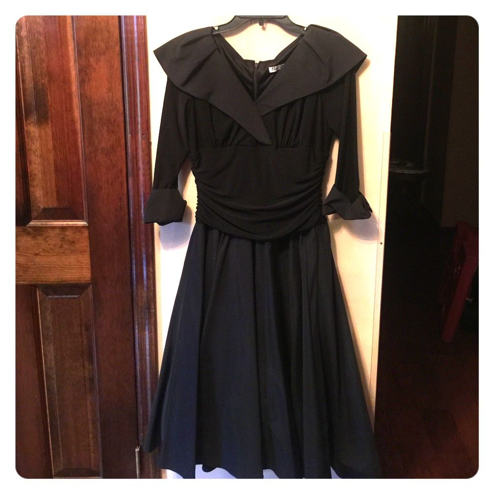 Eliza J Black Cocktail Dress