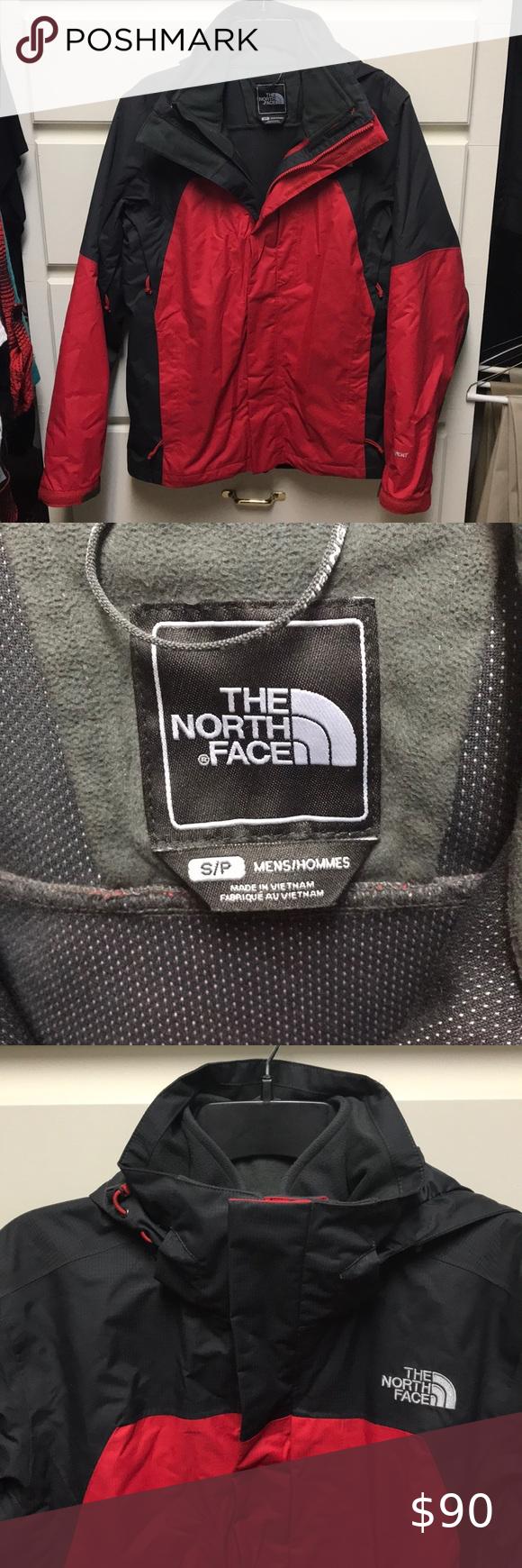 2 In 1 Nwot North Face Jacket Zip In Fleece North Face Jacket North Face Jacket Mens North Face Fleece Jacket [ 1740 x 580 Pixel ]