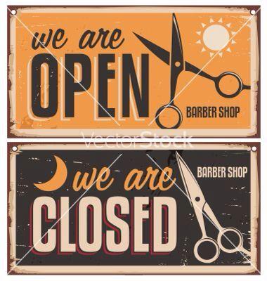 Barber Shop Barber Shop Vintage Barber Shop Sign Barber Shop