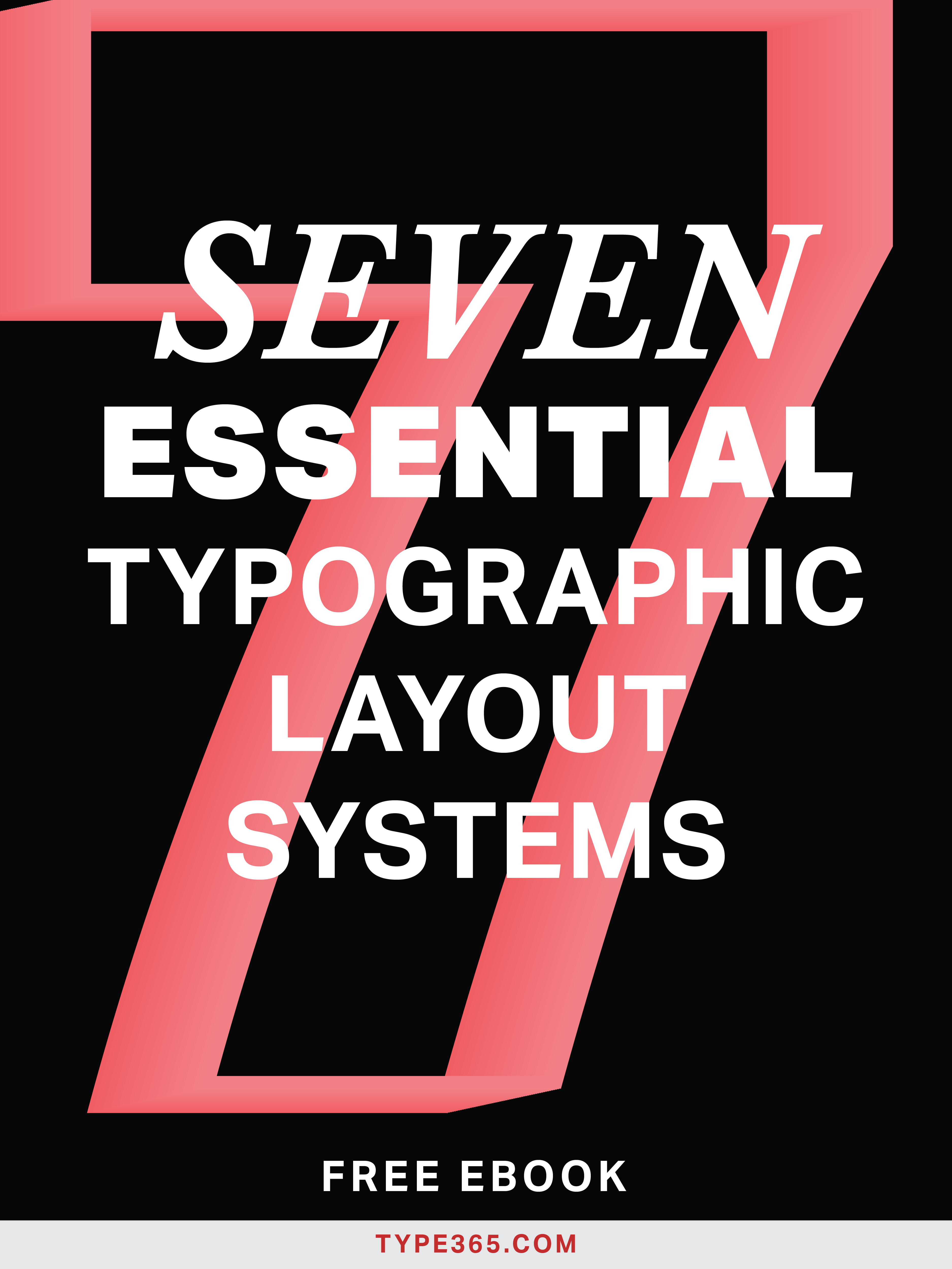 99% of designs use the same two layouts–and link most defaults, they're started to get really old. In reality, there are seven essential layout systems. Learn them all and make designs that stand out from the crowd. Learn more and download 7 Essential Typographic Layout Systems.