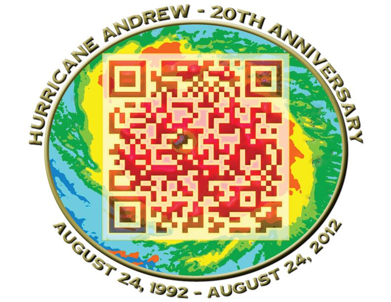 Hurricane Andrew Qr Code Special Qrcombo Scan Once For Video Memory Scan Again To Add Your Own Memory Hurricane Andrew Qr Code Andrew