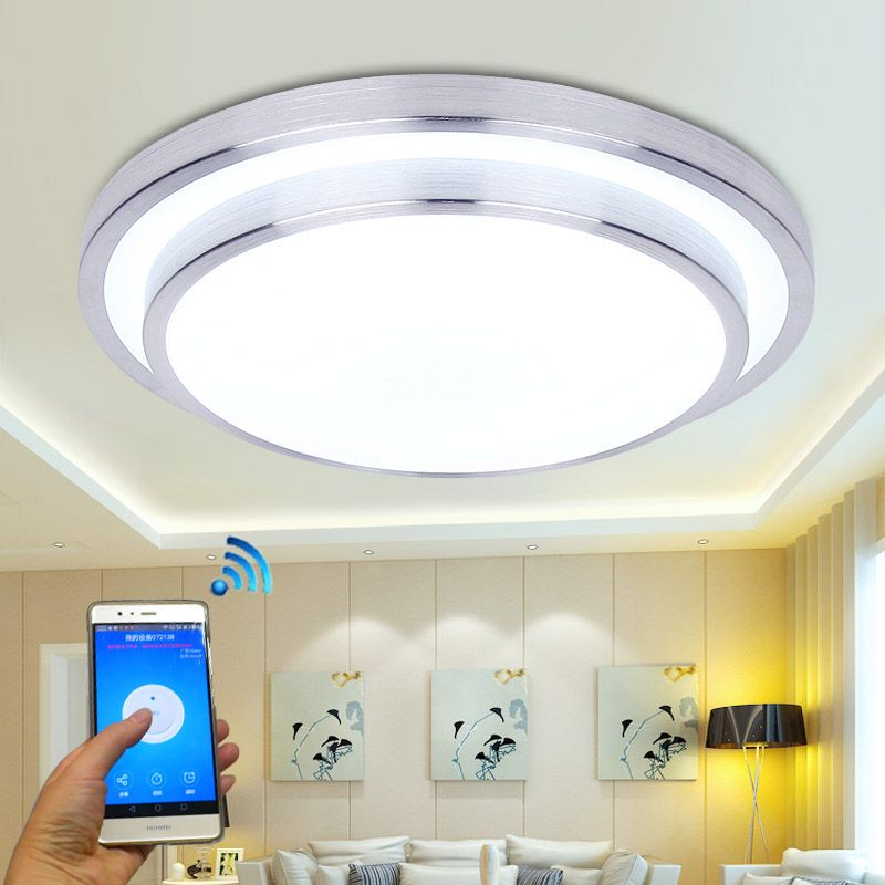 Jiawen LED Wifi Wireless ceiling lights 15W Aluminum Acryl Indoor