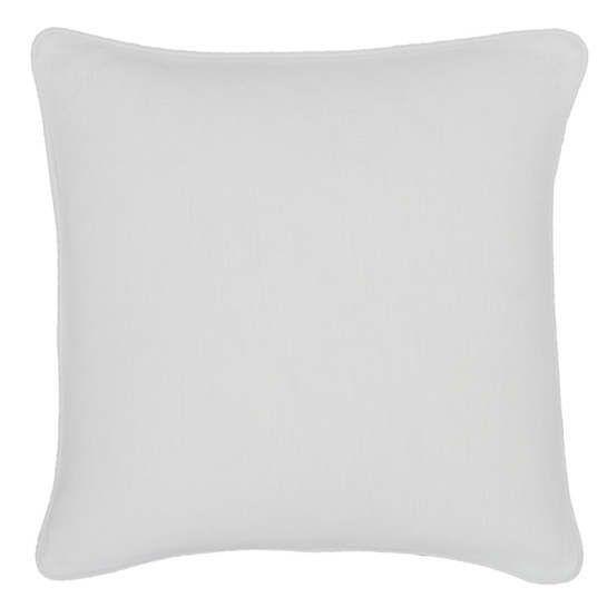 Stone Washed Linen White Decorative Pillow 4040 Gorgeous Washing Decorative Pillows