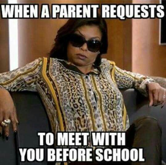 I Enjoy The Parents Who Want To Talk Now About A Child S Grade That Ship Has Sailed Mama Teacher Memes Funny Teacher Humor Teaching Humor