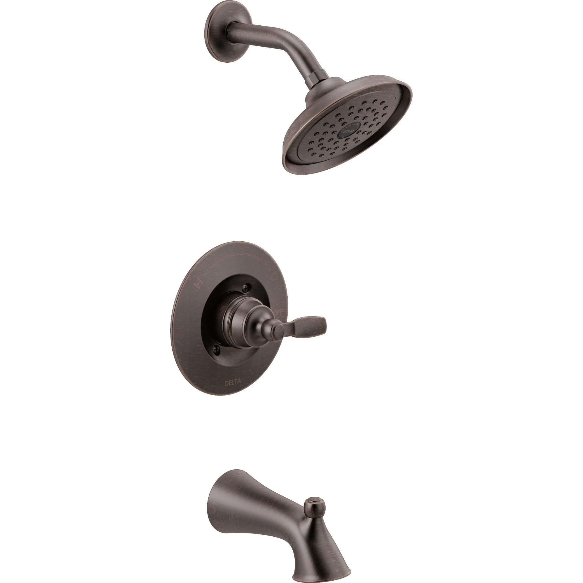 Delta Faucet T14432 Woodhurst Tub And Shower Trim Package With
