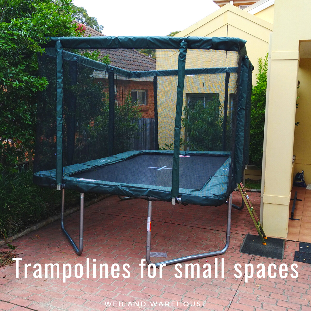 Best Trampolines for small backyard and garden space. in