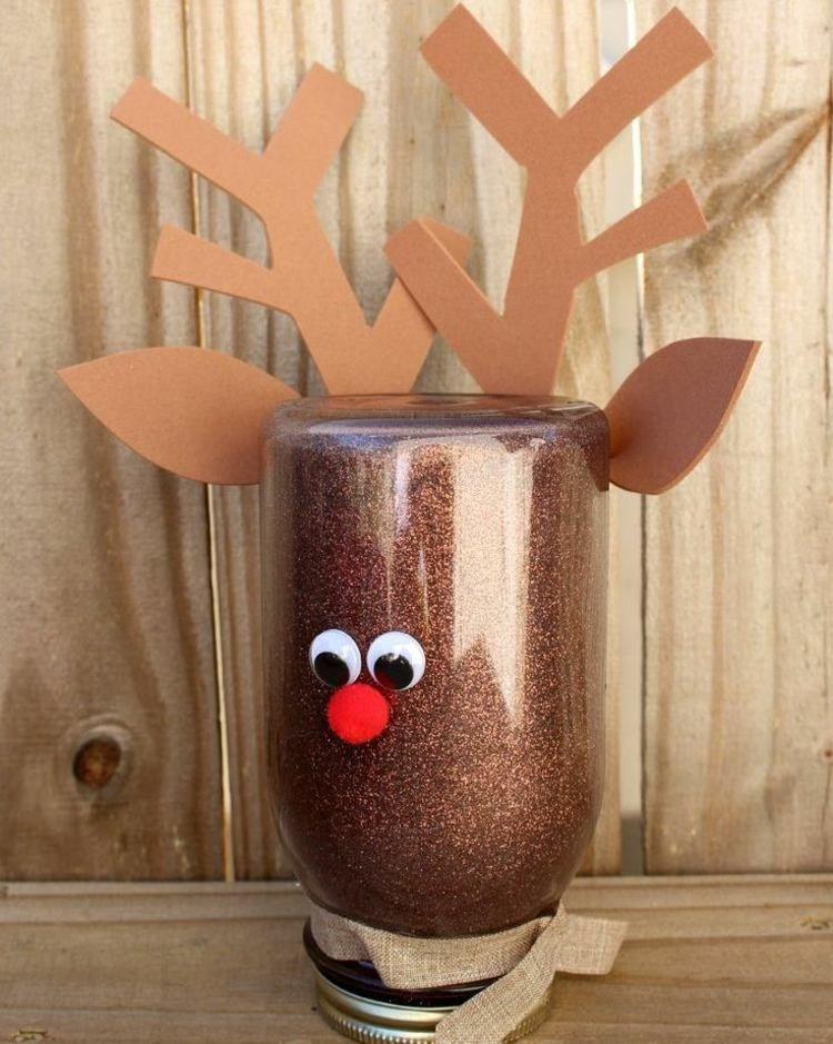 Le renne du père Noël à fabriquer pour égayer l\u0027ambiance