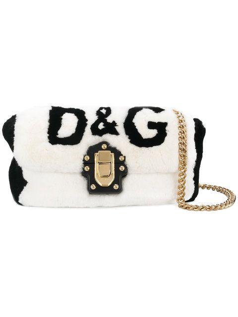DOLCE   GABBANA Lucia shoulder bag.  dolcegabbana  bags  shoulder bags   lining  fur   6dd1c392a1984