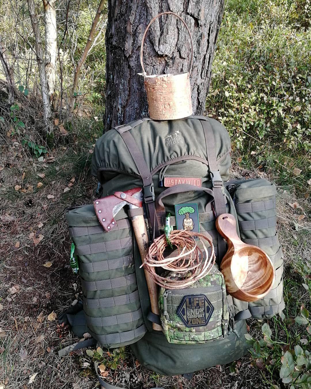 Bushcraft Survival Skills: Back To Civilization🔙🤠🌲🌳 #birchcup #staywild #woodsman