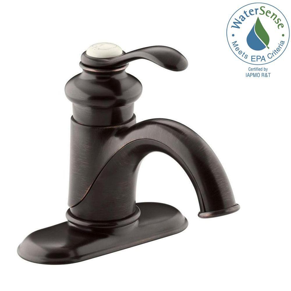 Kohler Fairfax Single Hole Single Handle Mid Arc Water Saving