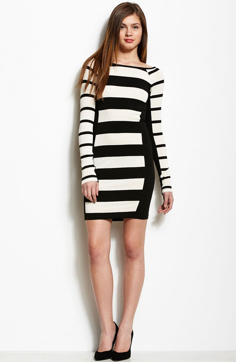 Just Ordered This Awesome Dress Striped Knit Dress Dresses Womens Armani Exchange Mini Dress Striped Knit Dress Clothes Design [ 1461 x 951 Pixel ]