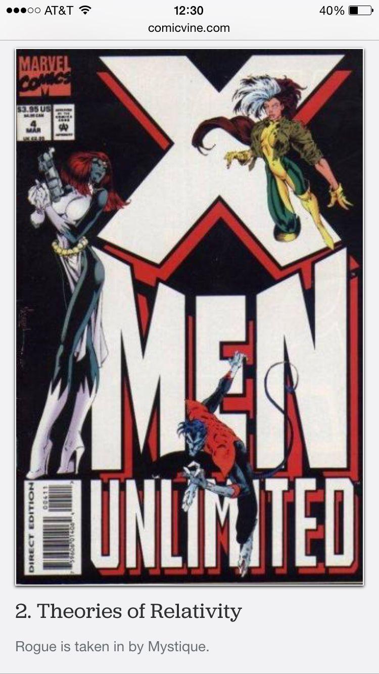 X Men Unlimited 4 Taken In By Mystique X Men Comic Book Covers Comics