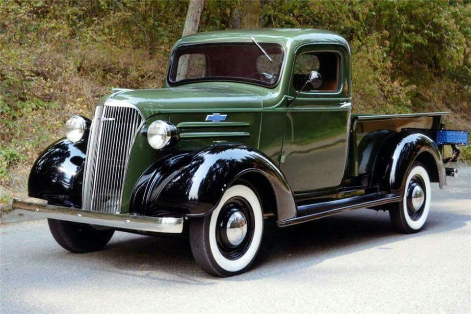 1937 Chevrolet Pickup Classic Cars Trucks Gmc Trucks Chevy