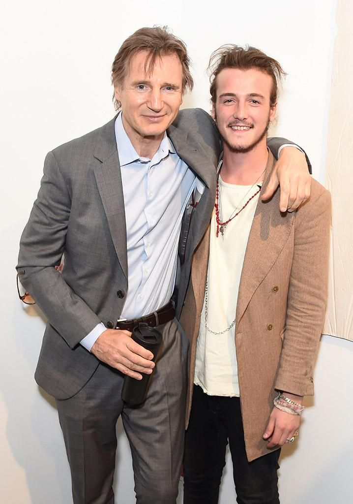 Liam neeson s son was his co star in that super bowl ad for Natasha richardson and liam neeson