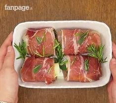 Photo of Chicken and speck rolls are a great idea for a se …