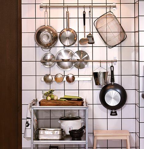 Wandaufbewahrung Für Die Küche Online Kaufen - Ikea | Küche