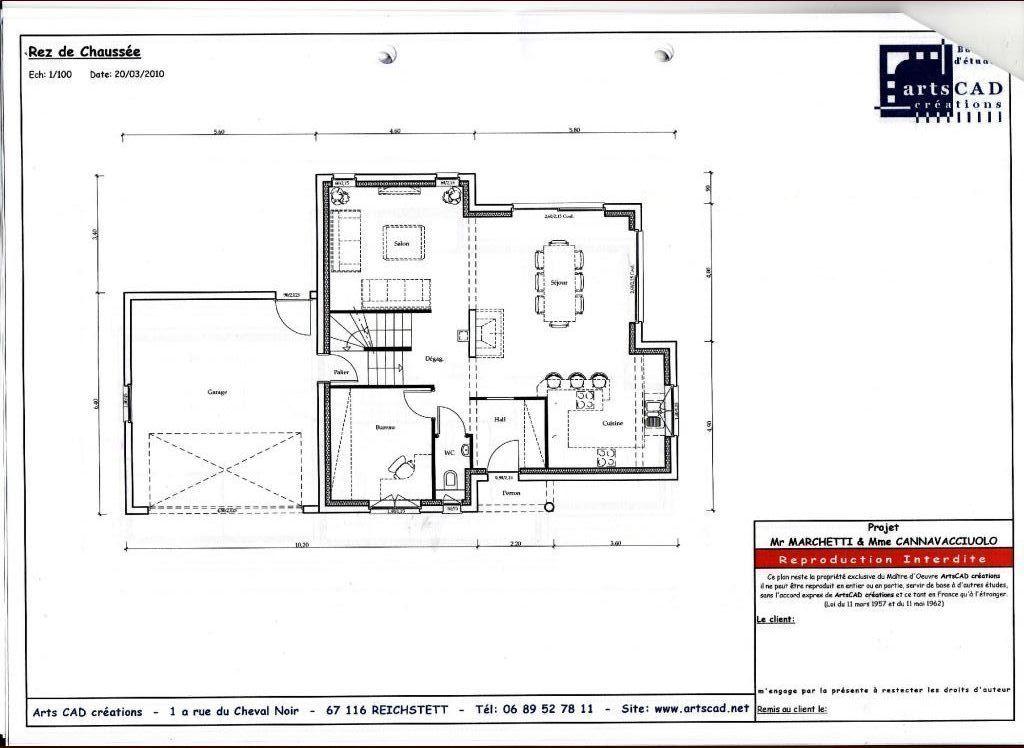 Vous y voyez le RDC et le garage en demi_niveau Le sous-sol couvre - plan maison demi sous sol