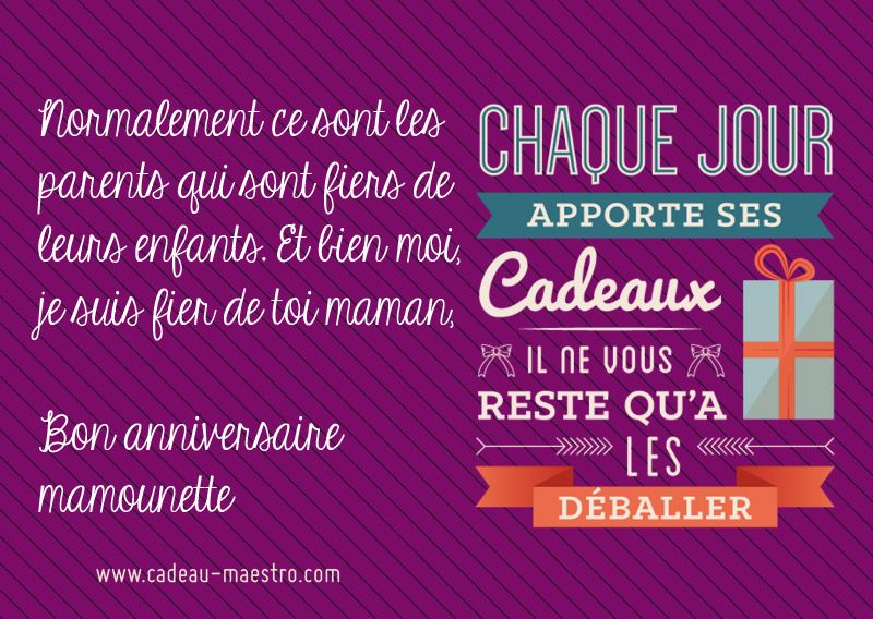 Top Messaged'anniversaire pour sa maman #message #carte #texte  MP08