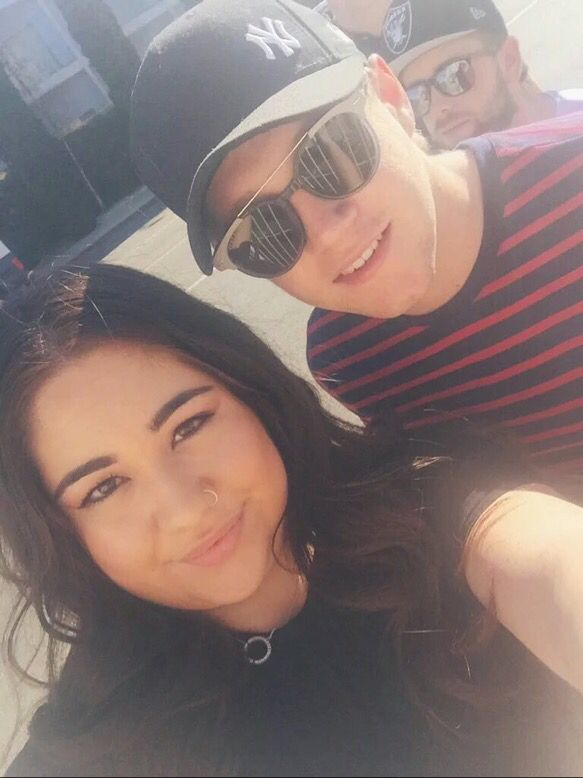 Niall today with a fan