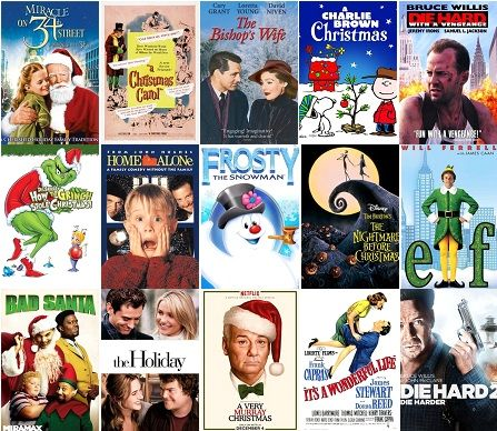 The #Christmas holidays are spent watching typical #holiday movies ...