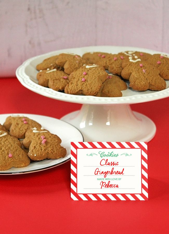 How to host a holiday cookie exchange {with FREE printables!}