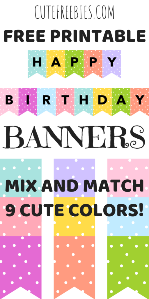 image regarding Free Printable Happy Birthday Banner Templates identify Delighted Birthday Banners / Buntings - Cost-free Printable - Cost-free